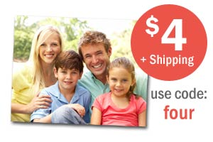 Save on 11x14 enlargements for only $4 each