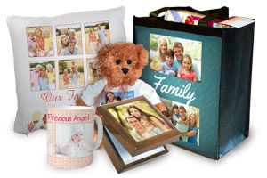 Create something special using photos, we offer many custom gifts
