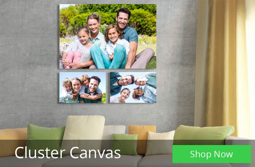 Decorate with a set of canvas prints on your wall