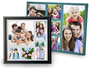 Photo Collage canvas prints