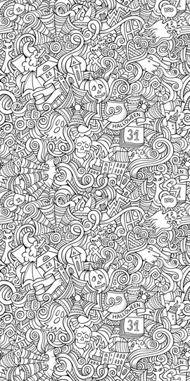 Color Your Own Wallpaper With Coloring Book Perfect For Kids