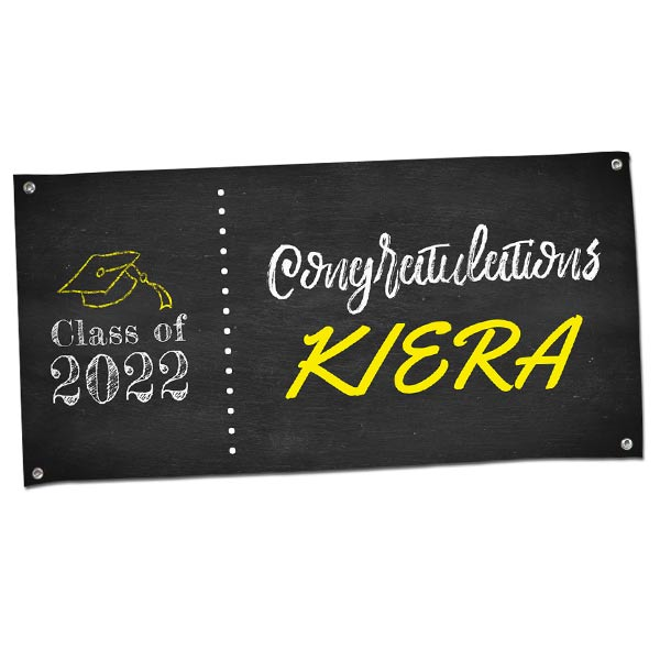 4 foot graduation banners