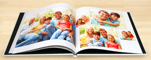 Customize each page of your book with a series of your most prized digital photos.