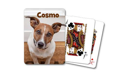 Create the ultimate gift by creating a personalized deck of playing cards