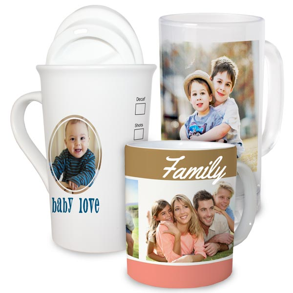 Add your favorite photo to our customized mugs and relive a fond memory with every sip.