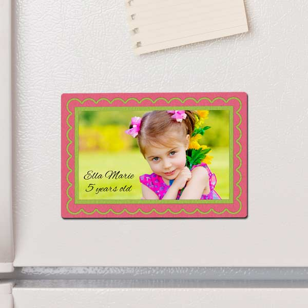 Turn your fridge into a gallery of memories with our custom printed 4x6 photo magnets.