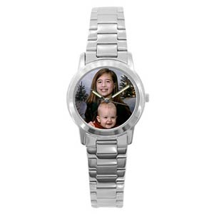 Custom Photo Silver Metal Watch