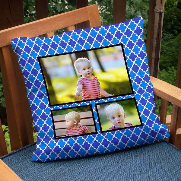 Decorate your patio or deck with memories with our photo outdoor pillows.