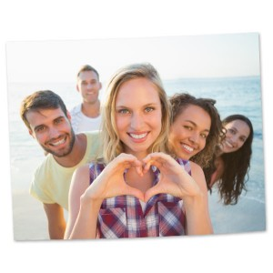Decorate any wall in style with our custom printed 11x14 photo prints and enlargements.