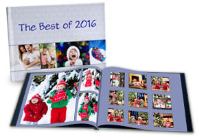 Design your own photo book with personalized hardcover