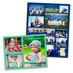 Design your own collage poster and create your own wall art full of color and personality.