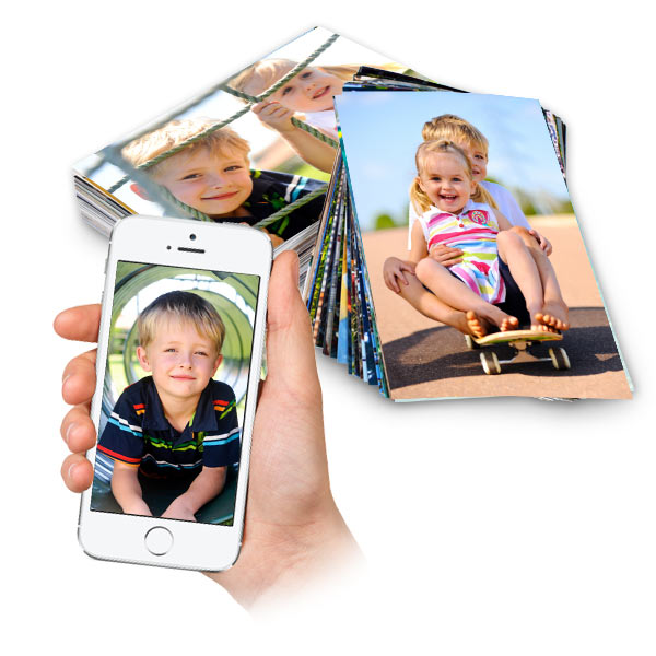 Order your favorite smart phone digital images in minutes for the best quality photos online.