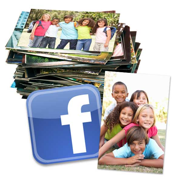 Select from a range of sizes and transform your Facebook photos into quality prints.