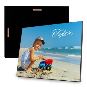 Add a reflective sheen to a favorite photo with our custom hardwood photo panel.