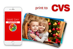 Order prints from your phone and pick them up the same day from CVS with Same Day Photos