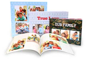 Create a personalized mini photo album you can share with friends and family with Winkflash Paperback books