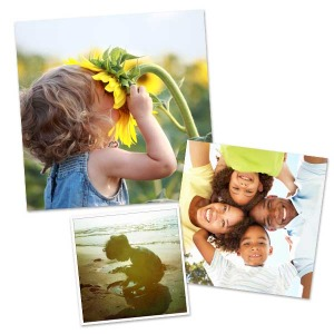 Perfect for your stylish square frames and Instagram photos, our square pictures are printed on the best quality photo paper.