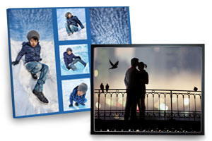 Beautiful photo prints on canvas to display in your home or office