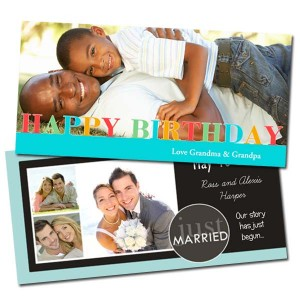 Create a classic 4x8 card to send for any occasion