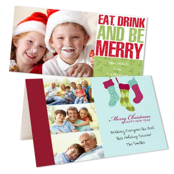 Personalized Photo Christmas Cards Winkflash