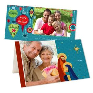 Add your own unique style to your holiday cards this year by incorporating your favorite photos.