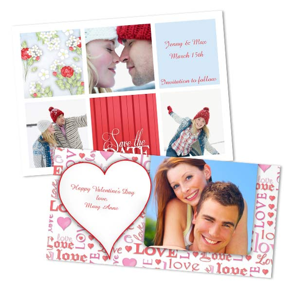 Design the perfect Valentine with your own photo to sweep you significant other off their feet.