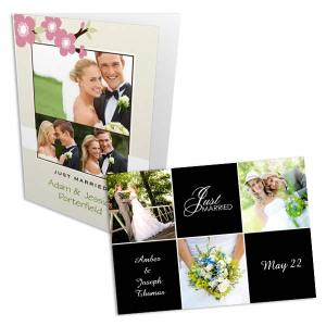 Choose from several styles and make the perfect Wedding cards that compliment your special day in style.