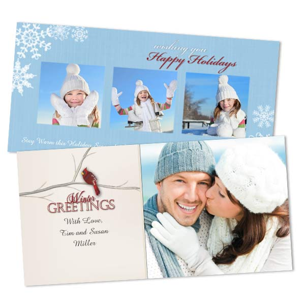Customize your own Winter greeting using your own photo and variety of fun templates.