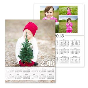 Dress up a blank wall in your home or office with our photo single page wall calendar.