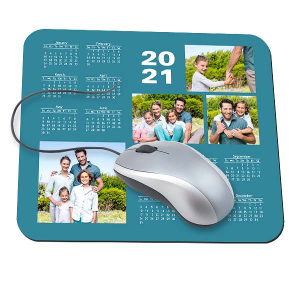 Turn your photo into a mouse pad calendar for your desk