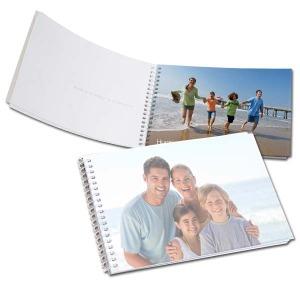 Small Spiral bound mini photo books