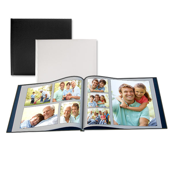 Display your photos in elegance with our leather cover 12x12 photo book.