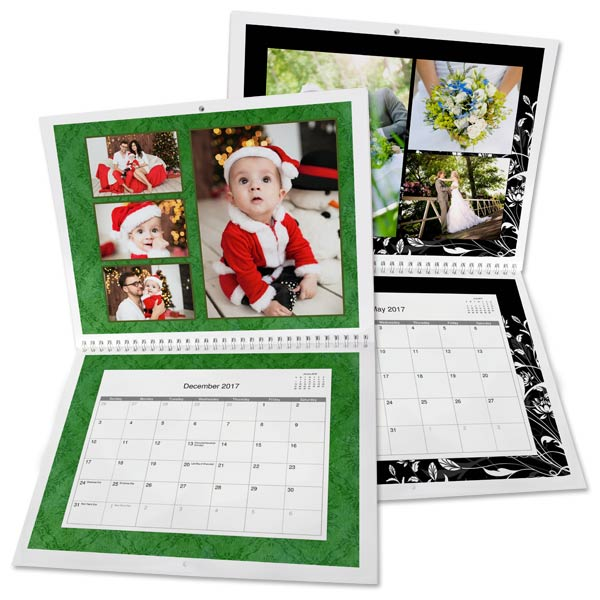 8.5x11 Photo Calendar | 2017 Wall Calendar | Winkflash