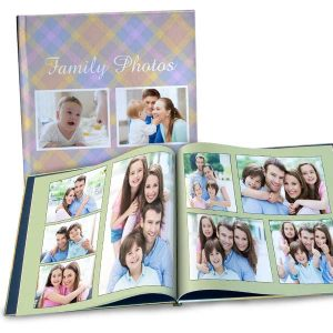 Create your own coffee table photo book and feature your own photos and story