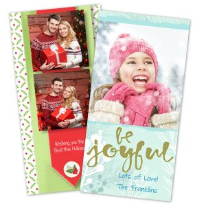 Send your 4x8 Christmas cards with Winkflash