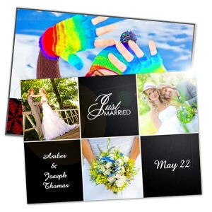 5x7 Photo cards with pearl metallic finish