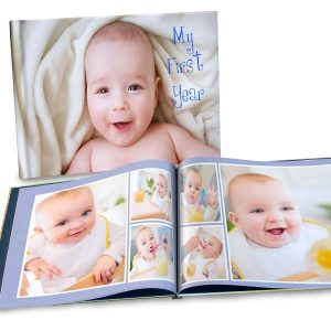 Our 8.5x11 custom photo cover book is sure to show off your memories in their fully glory.