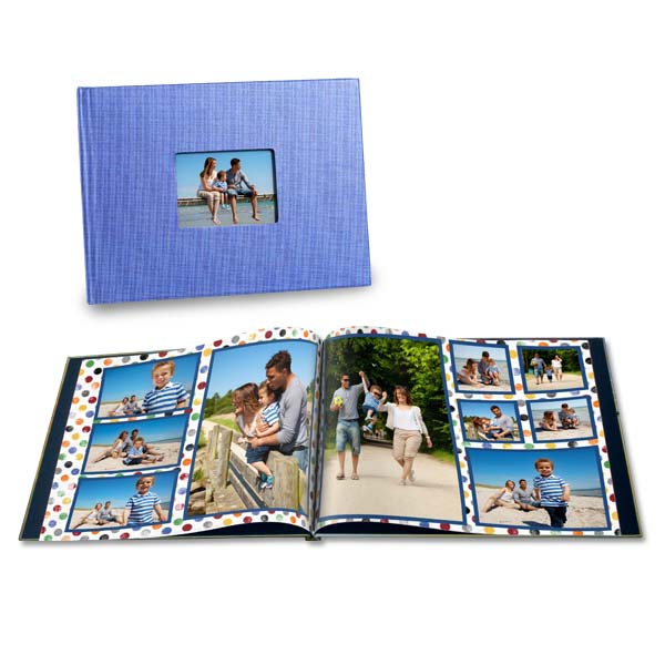 Spend the day at the beach and take photos, why not make a photo book of the occasion
