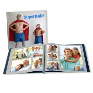 Share your favorite memories with Dad and create a custom photo book for him this Father's Day.