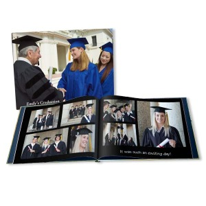 Show how proud you are of your grad by creating a fully customized grad photo albums just for them.