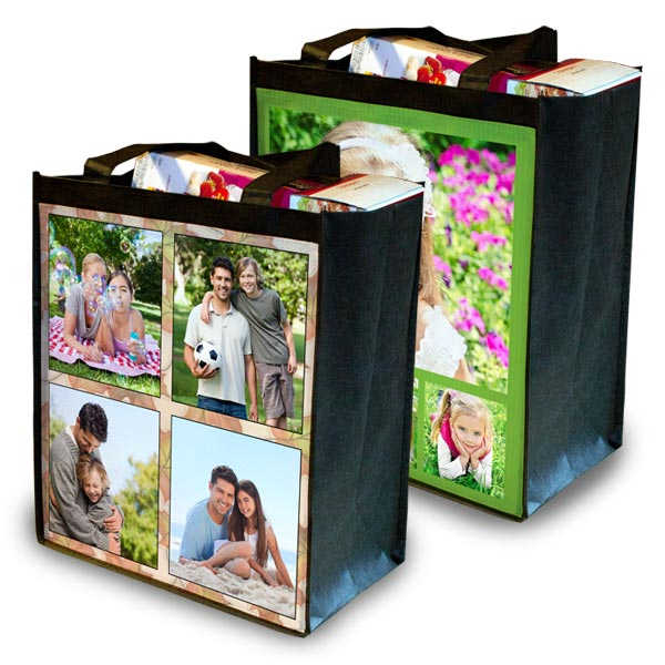 Save the environment while admiring a favorite photo and create your own customized photo ECO bag.