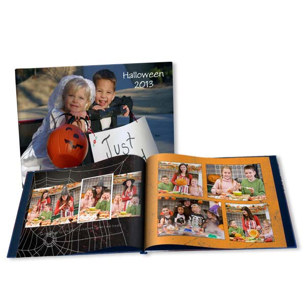 Design your own photo book full of your most cherished Halloween memories.