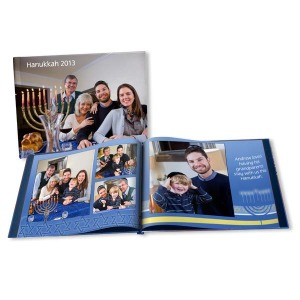 Celebrate your best Chanukkah moments and create your own fully customized photo book.