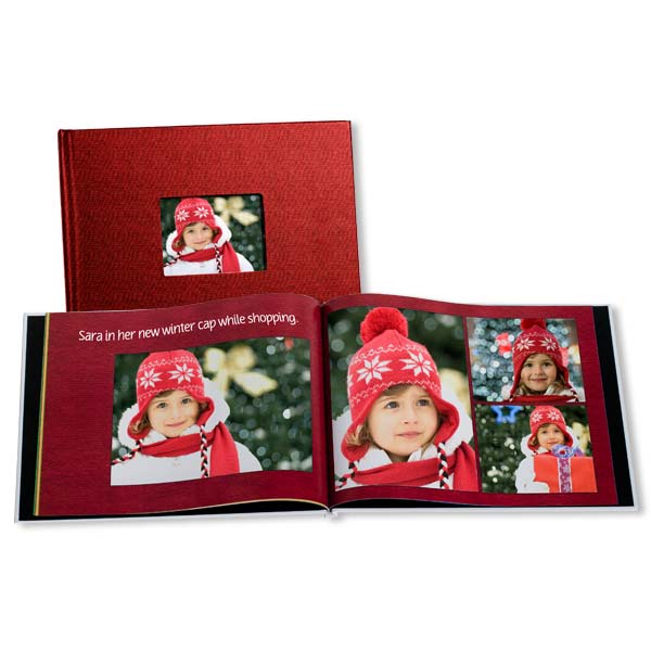 Preserve your most cherished holiday memories with our custom holiday photo books.