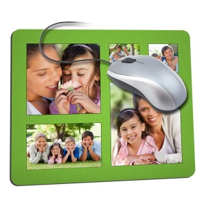Customized your very own mousepad with fun photos and personalized text for the ultimate office accessory.