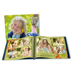 Customize a photo book specifically for your favorite spring memories.