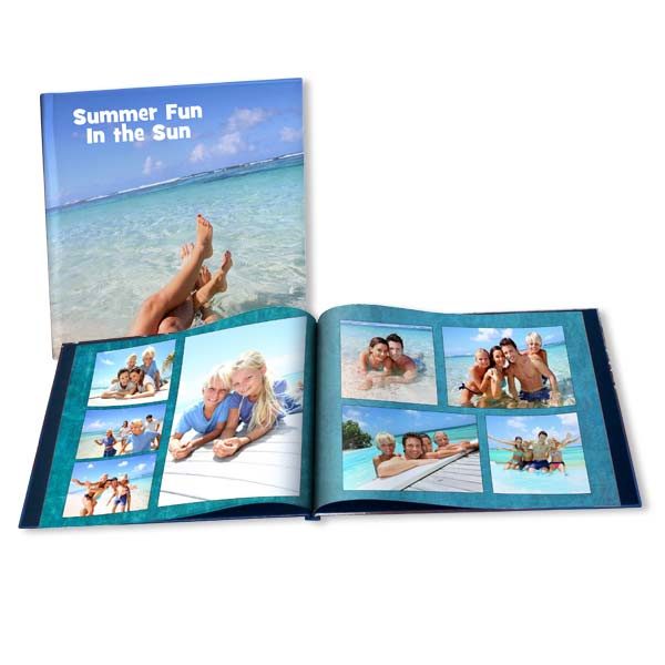 Display all of your Summer vacation photos together in a stylish Summer photo album created by you.