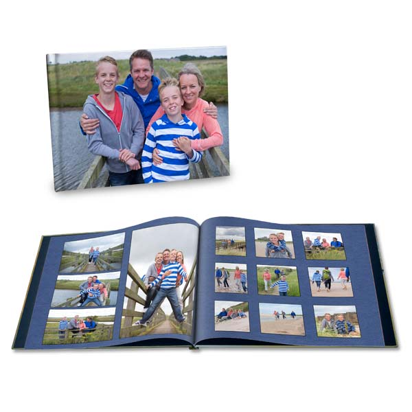 Family vacations are a time for photos, create a book to remember your vacation