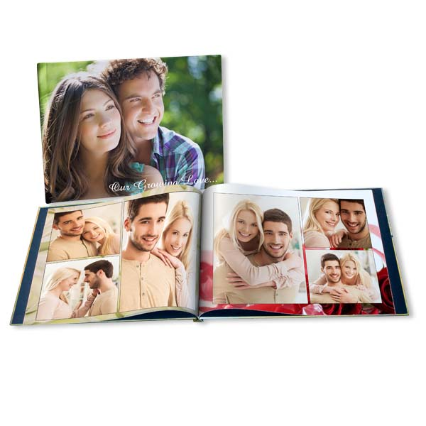 Showcase your most romantic photos with our customized Valentine photo books.