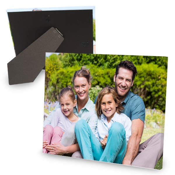 Family portraits on canvas are great for your mantel